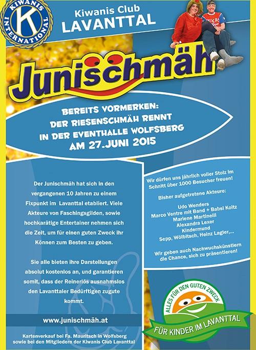 Junischmäh Flyer Ank 2015