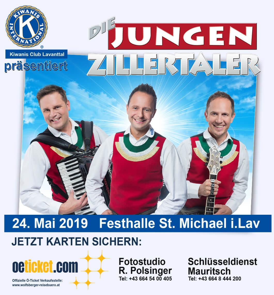 KC Lavanttal Die jungen Zillertaler Eventhalle St Michael im Lavanttal